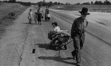 Dust Bowl refugees by Dorothea Lange